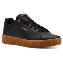 Reebok Royal Shoes Womens Black/Gold Metallic CN3239