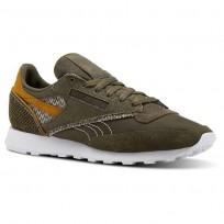 Reebok Classic 83 Shoes Mens Grey/Green/Brown CN4509
