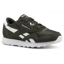 Reebok Classic Nylon Schuhe Kinder Weiß CN5025