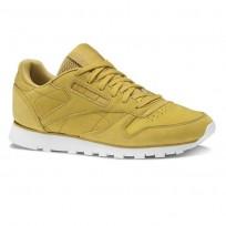 Reebok Classic Leather Schuhe Damen Khaki CN5483