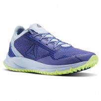 Reebok All Terrain Running Shoes Womens Grey/Blue BS9954