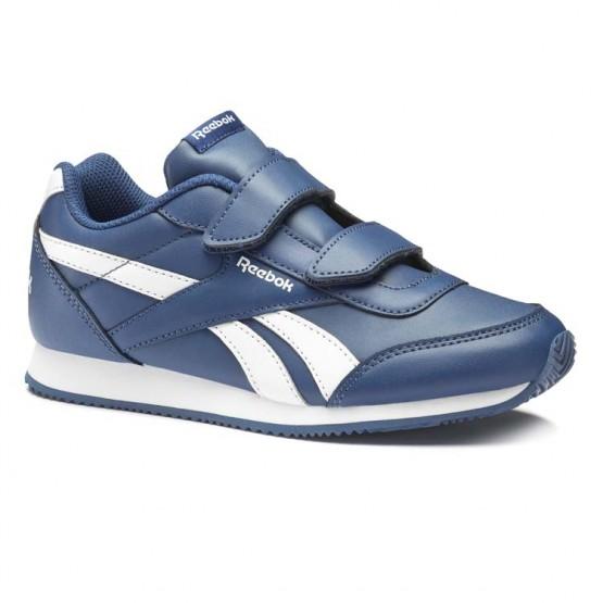 Zapatillas Reebok Royal Classic Jogger Niños Azules/Blancas CN4935