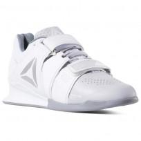Reebok Legacy Lifter Shoes Womens White/Grey/Silver DV4397