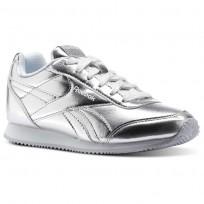 Reebok Royal Classic Jogger Schuhe Mädchen Silber Metal/Weiß CN1343