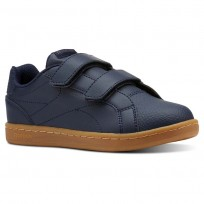 Reebok Royal Comp Shoes Boys Navy/Deep Grey CN4797