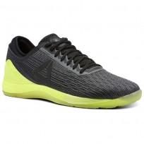 Reebok Crossfit Nano Shoes Mens Black/Yellow CN1034
