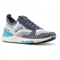 Reebok Floatride 6000 Lifestyle Shoes Womens Grey/Turquoise/White CN2234