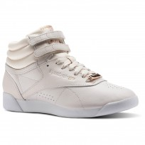 Reebok Freestyle Hi Schuhe Damen Rosa/Weiß/Grau CN1495