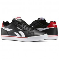 Reebok Royal Complete Shoes Mens Black/White/Red AR2427