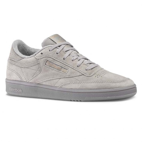 Reebok Club C 85 Shoes Womens Grey/Rose Gold CN5837