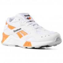 Reebok Aztrek Schuhe Herren Weiß/Schwarz/Orange CN7472