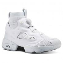 Reebok Instapump Fury Shoes Mens Grey/Green CN3799