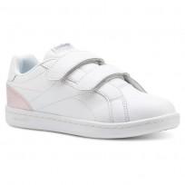 Reebok Royal Comp Schuhe Mädchen Weiß/Rosa/Silber CN5063