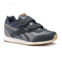 Reebok Royal Classic Jogger Shoes Boys Navy/Cream CN4814