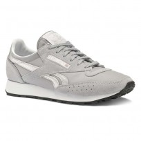Reebok Classic 83 Shoes Mens Grey/White/Silver/Black CN3595