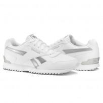 Reebok Royal Glide Schuhe Damen Weiß/Silber Metal BS5819