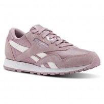 Reebok Classic Nylon Shoes Girls White/Silver CN3315
