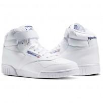 Zapatillas Reebok Ex-O-Fit Hombre Blancas 3477