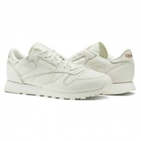 Reebok Classic Leather Shoes Womens White/Rose Gold BS6591