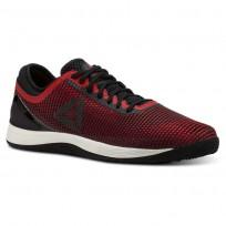 Reebok Crossfit Nano Shoes Mens Black/Red CN5656