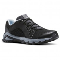 Reebok Trailgrip Walking Shoes Womens Black/Grey/Blue BS5302