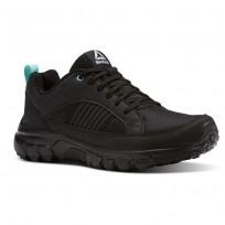 Reebok Dmx Rode Comfort Running Shoes Womens Black/Grey/Turquoise BS9607