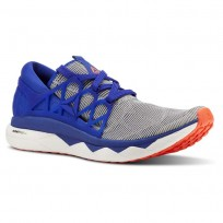 Reebok Floatride Run Running Shoes Mens White/Blue/Red CN5237
