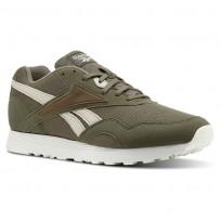 Reebok Rapide Mu Shoes For Men Grey/Green CN5910