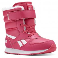 Reebok Cl Snow Jogger Shoes Girls Pink/White/Light Pink CN4629