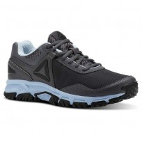 Walking Shoes Reebok Ridgeride Trail 3.0 Womens Grey/Blue/Black CN3483