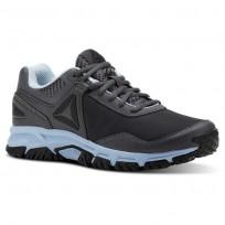 Reebok Ridgeride Trail 3.0 Walking Shoes Womens Grey/Blue/Black CN3483