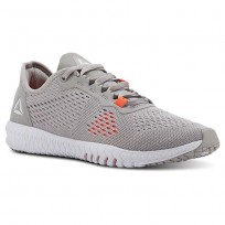 Reebok Flexagon Training Shoes Womens Grey/Red/White CN5509