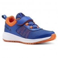 Reebok Road Supreme Running Shoes Boys Royal/Light Orange/Black CN4206