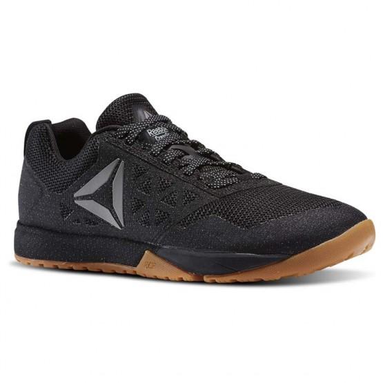Reebok Crossfit Nano Shoes Womens Black/White/Silver BS5108