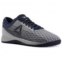 Reebok Crossfit Nano Shoes Mens Grey/White/Navy/Grey CN1037
