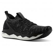 Reebok Floatride Rs Ultk Lifestyle Shoes Mens Black/Grey CN2236