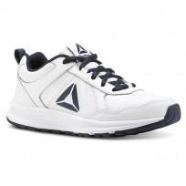 Reebok Almotio 4.0 Running Shoes Kids White/Navy CN4218