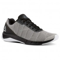 Reebok Flexweave Run Running Shoes Mens White/Grey/Black CN5097