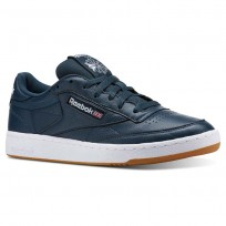 Reebok Club C 85 Shoes Mens Blue/White CN5778