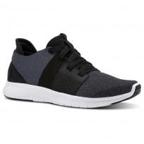 Reebok Trilux Run Running Shoes Womens Black/Grey/White/Grey CN2581