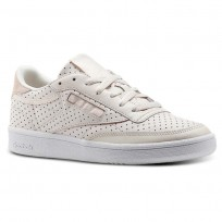 Shoes Reebok Club C 85 Womens Pink/White CM9279