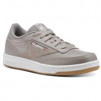 Reebok Club C 85 Shoes Kids Grey/White/Wash Blue CN1200