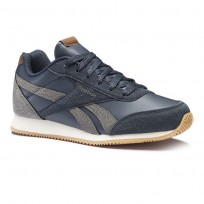 Reebok Royal Classic Jogger Shoes Boys Navy/Cream CN4813