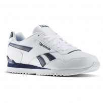 Zapatillas Reebok Royal Glide Hombre Blancas/Azul Marino BD5321