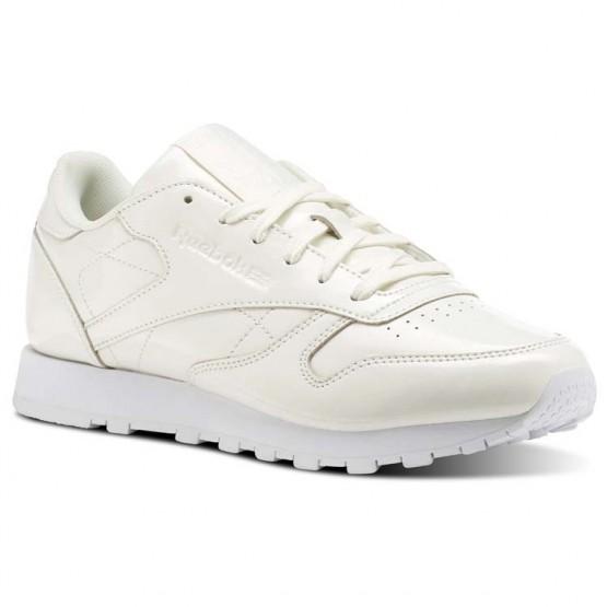 Zapatillas Reebok Classic Leather Mujer Blancas CN0770