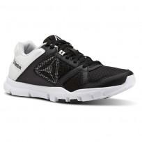 Training Shoes Reebok Yourflex Trainette Womens Black/White CN4733