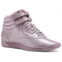 Zapatillas Reebok Freestyle Hi Mujer Rosas Doradas CN3992