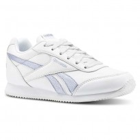 Reebok Royal Classic Jogger Shoes Girls White/Silver CN4771