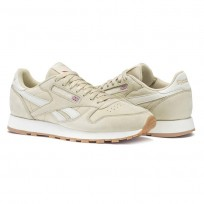 Shoes Reebok Classic Leather Mens Beige/Red CN3997