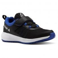 Reebok Road Supreme Running Shoes Boys Black/Blue/White CN4205